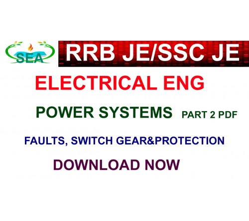 power systems part 2 - RRB JE/SSC JE